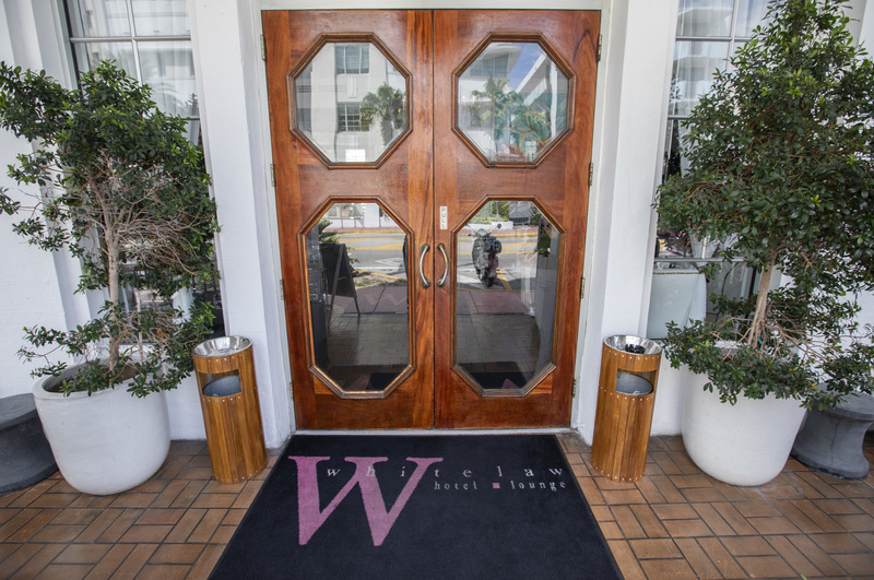 Whitelaw Hotel. Front Door